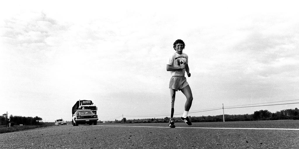 Terry Fox running