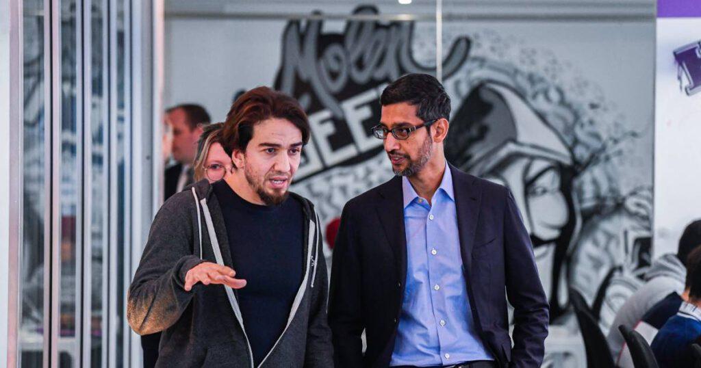 Ibrahim et Sundar Belga