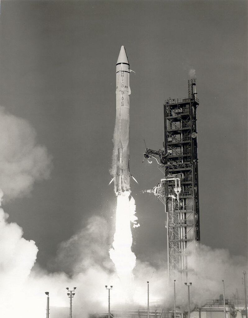 Décollage de Mariner 9 sur sa fusée Atlas-Centaur