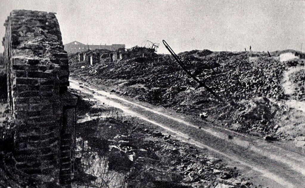 Ruines du Ghetto de Varsovie