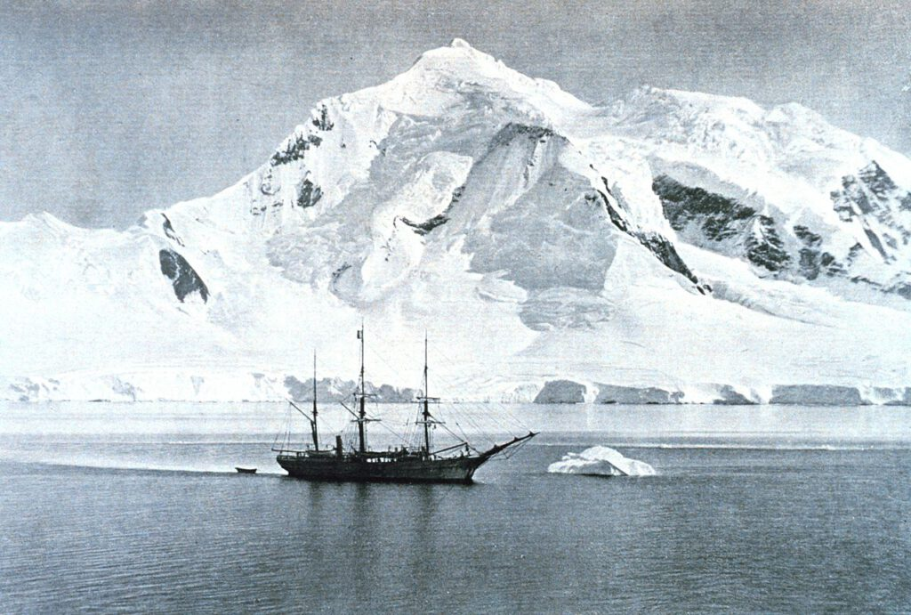 Le Belgica en Antarctique